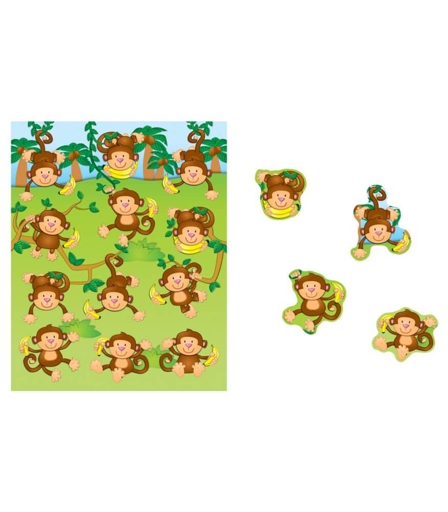 Monkeys Shape Stickers Product Image