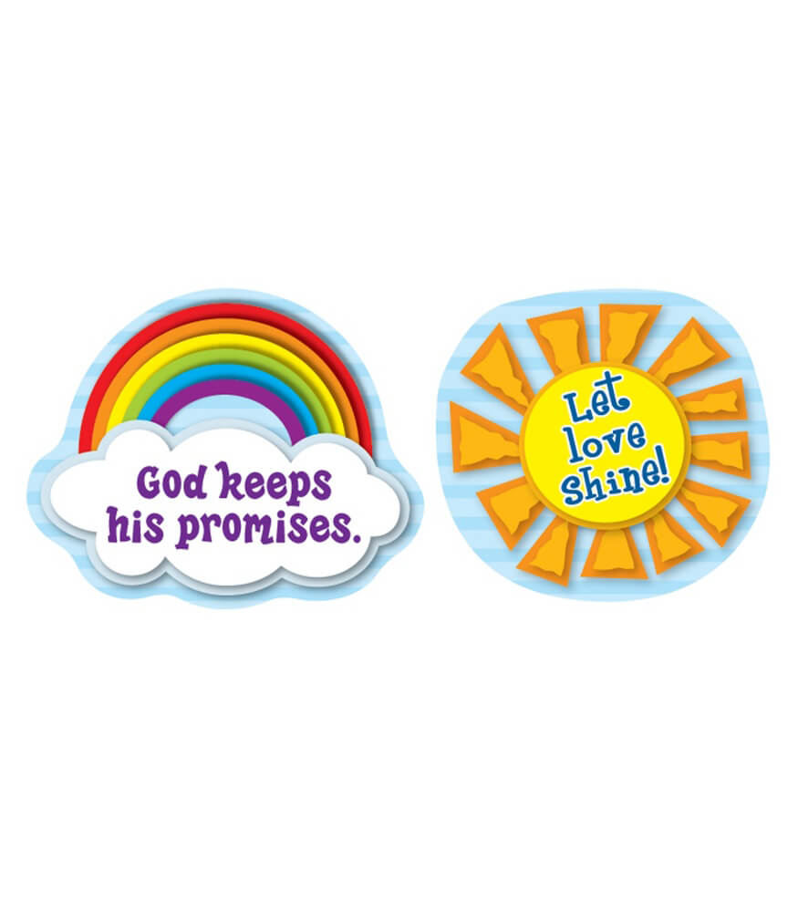 Let Love Shine Shape Stickers Product Image