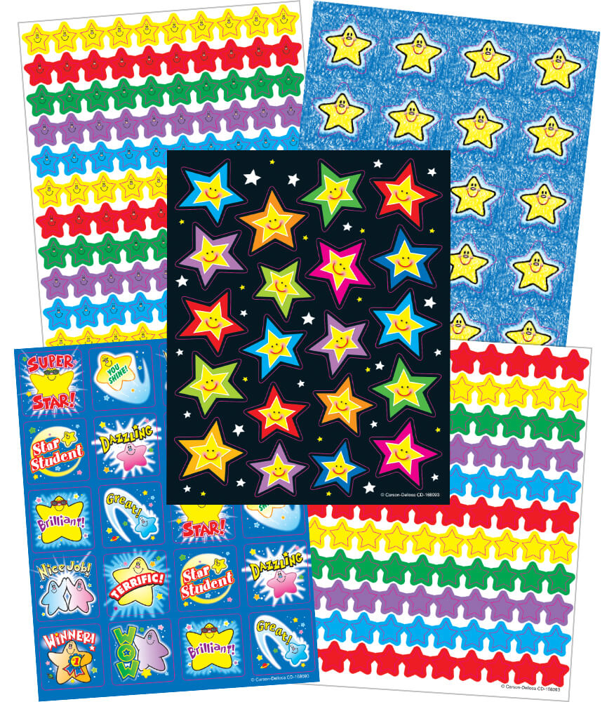 Stars Sticker Collection