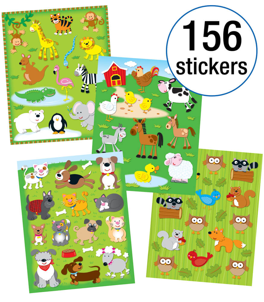 Animals Sticker Collection Product Image
