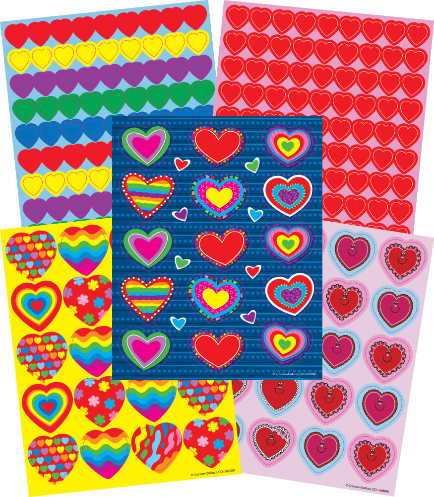 Hearts Sticker Collection