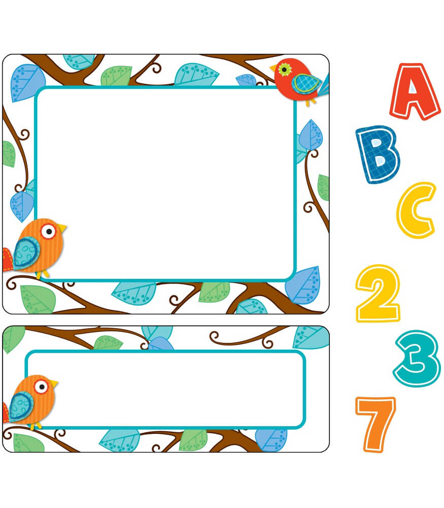 Boho Birds Variety Sticker Pack