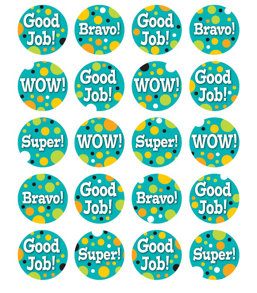 Teal Appeal Motivators Motivational Stickers Product Image