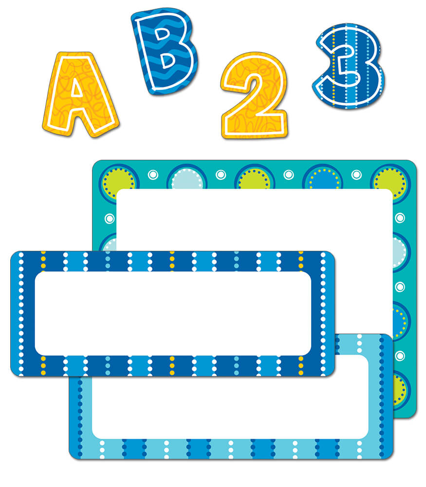 Bubbly Blues Variety Sticker Pack Product Image