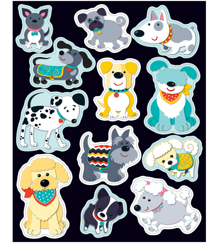 Hot Diggity Dogs Shape Stickers Product Image