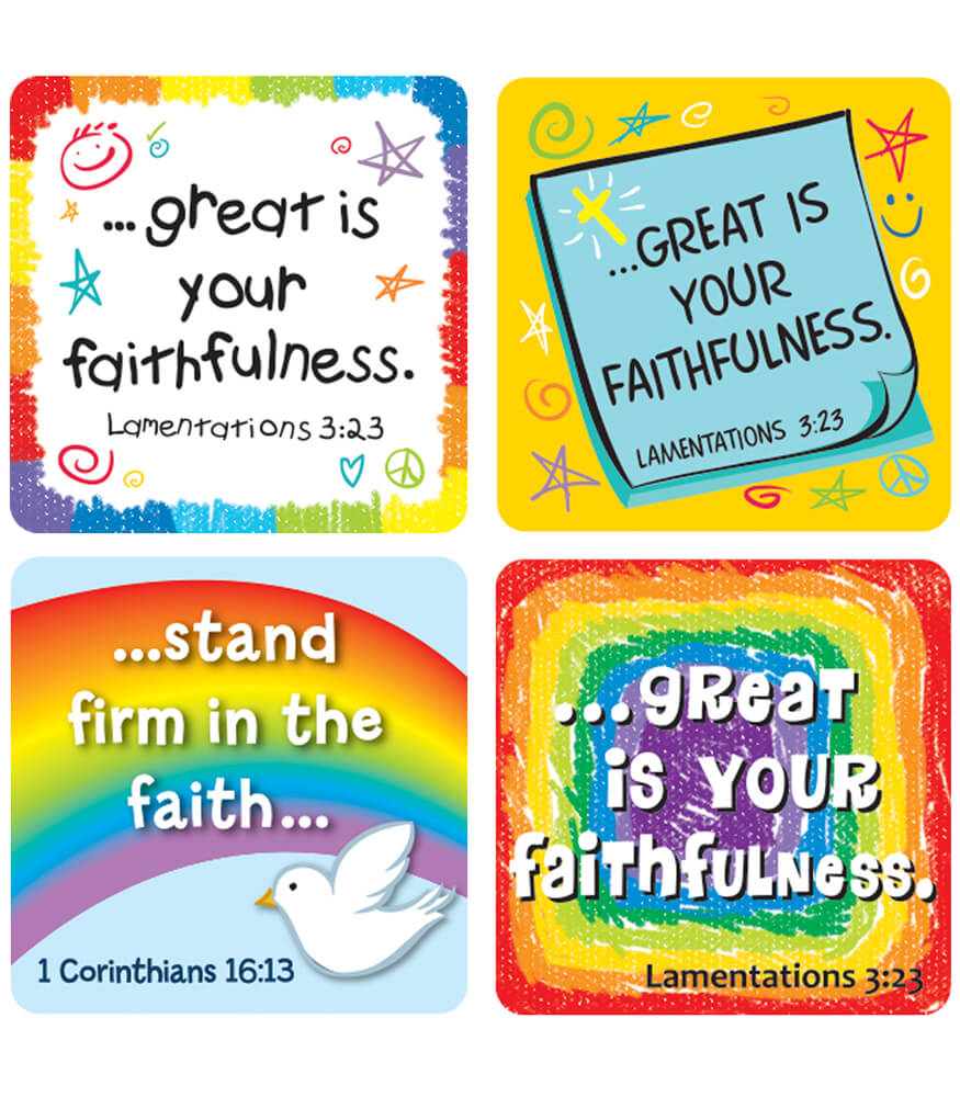 Faith Verses Sticker Pack Product Image
