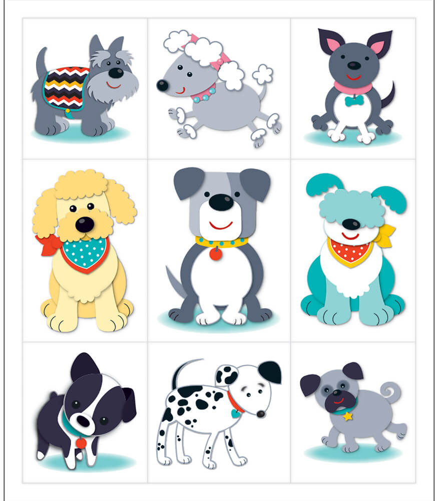 Hot Diggity Dogs Prize Pack Stickers Product Image