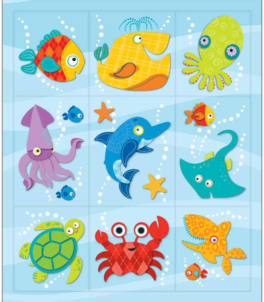 Seaside Splash Prize Pack Stickers Product Image
