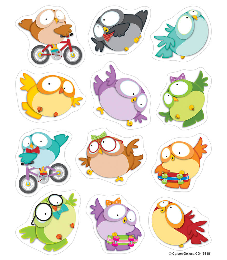 Owl Pals Sticker Pack Product Image