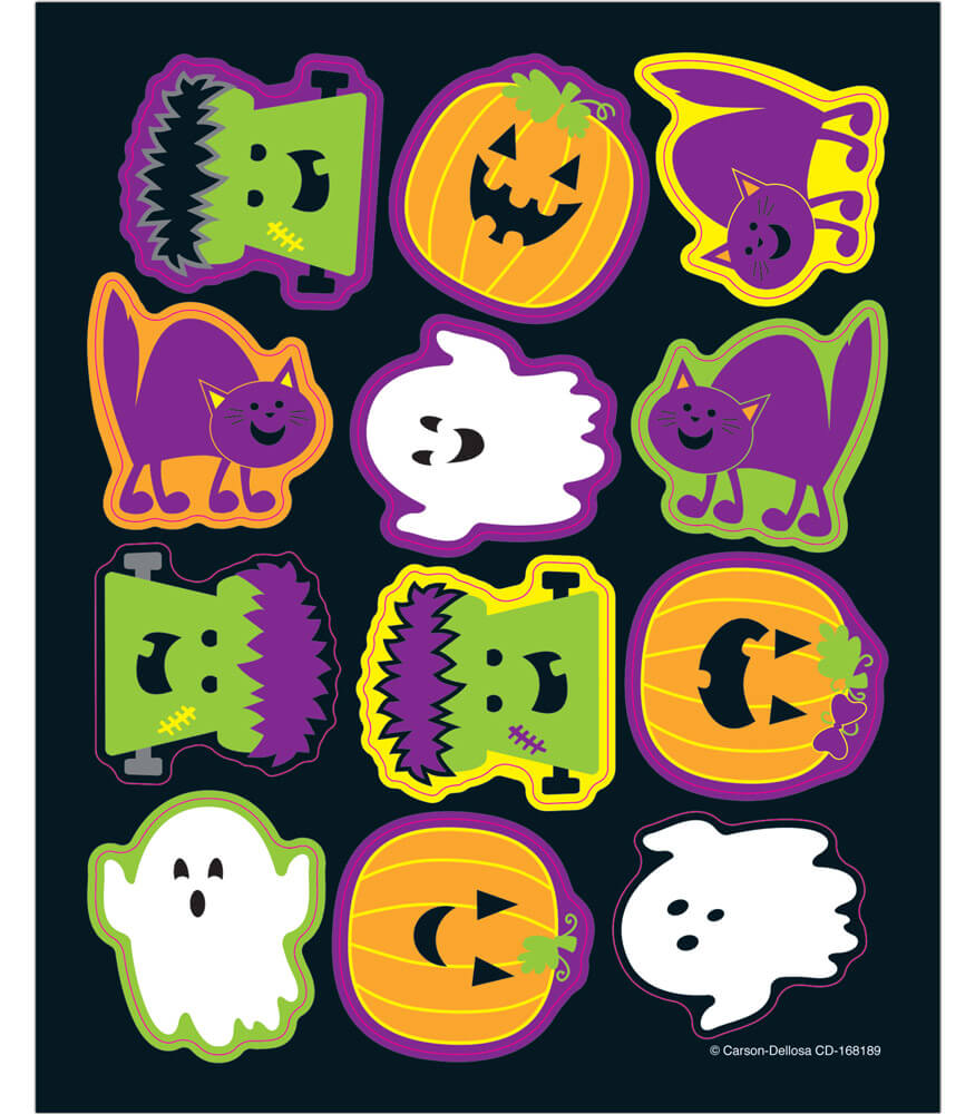 Halloween Shape Stickers Product Image