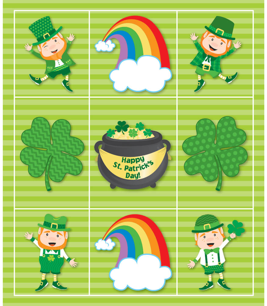 St. Patrick's Day Prize Pack Stickers Product Image