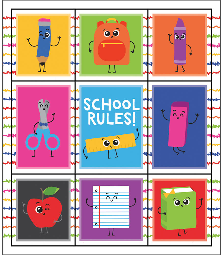 School Tools Prize Pack Stickers Product Image