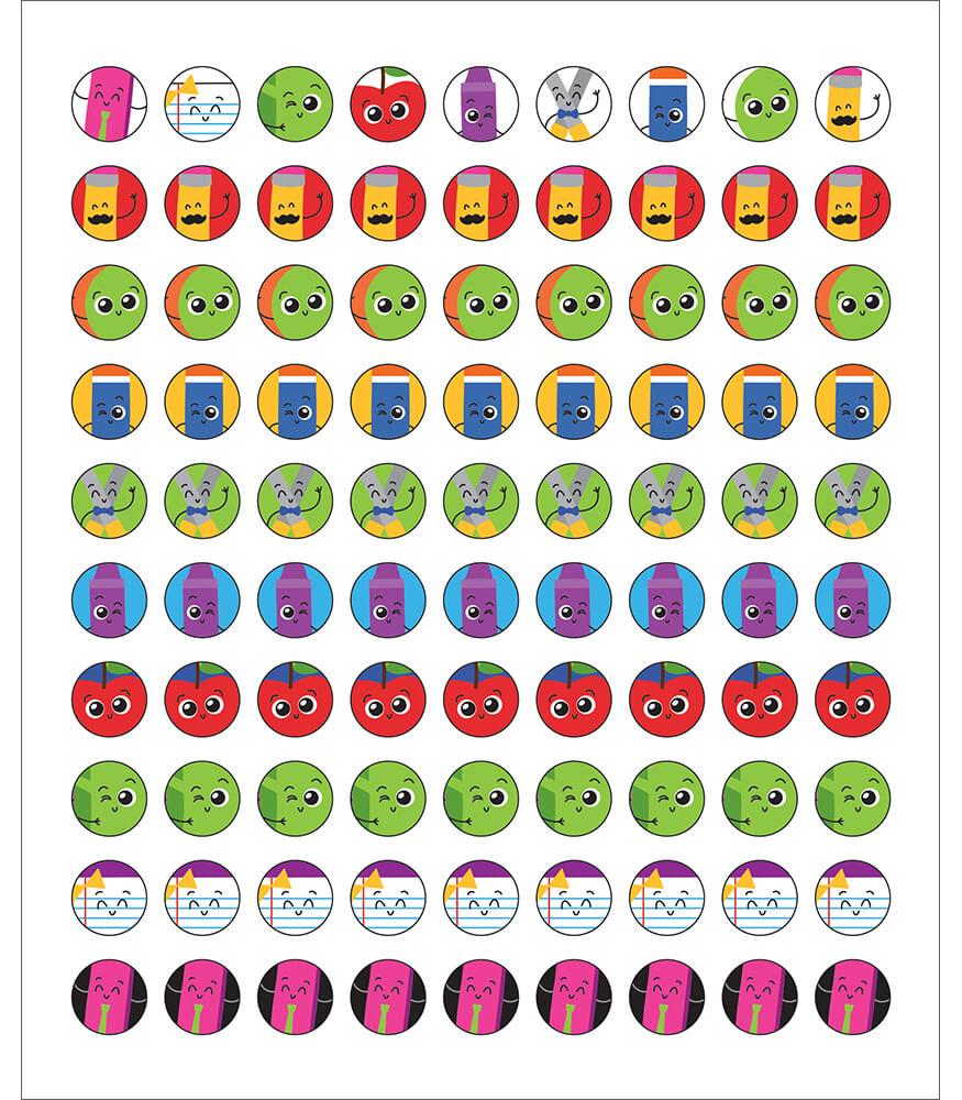 School Tools Chart Seals Product Image