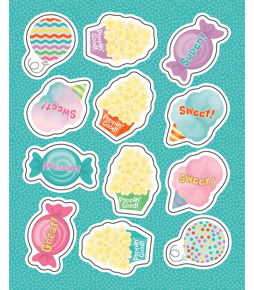 Treats Shape Stickers Product Image