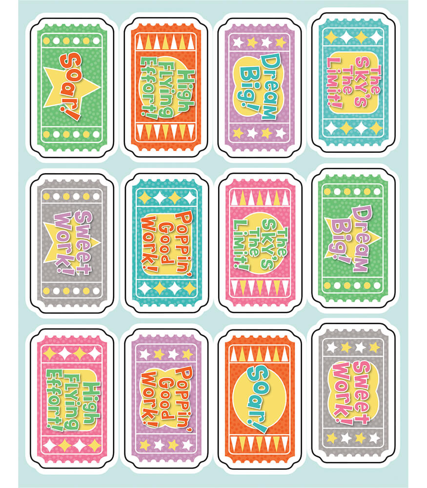 Up and Away Motivators Motivational Stickers Product Image