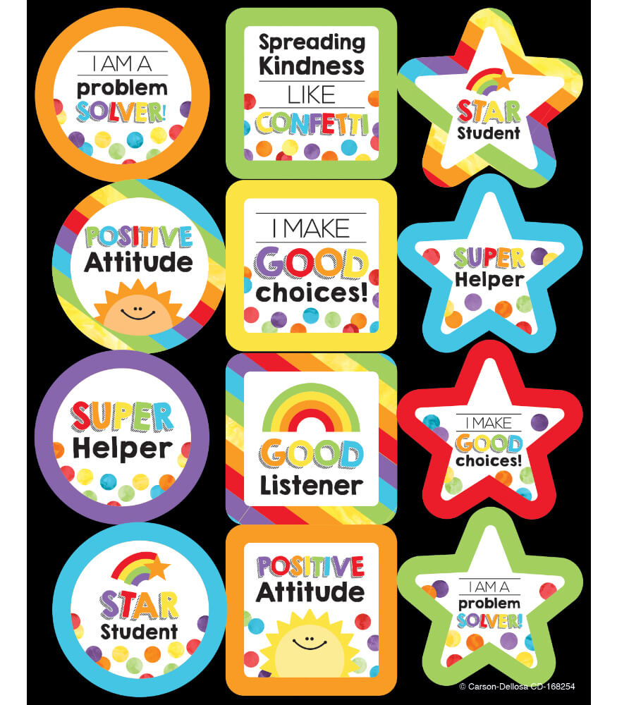 Celebrate Learning Motivators Motivational Stickers Product Image