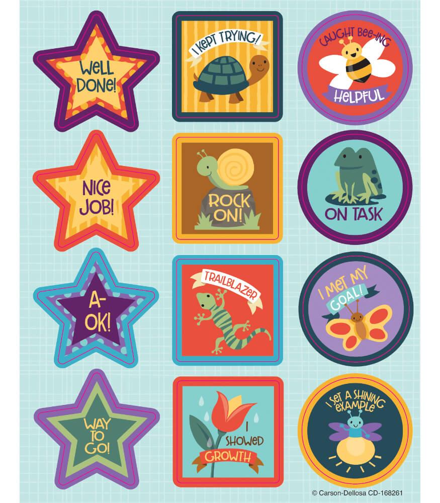 Nature Explorers Motivators Motivational Stickers Product Image