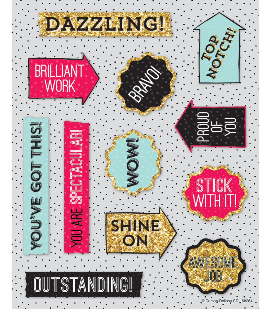 Shine On Motivators Motivational Stickers Product Image