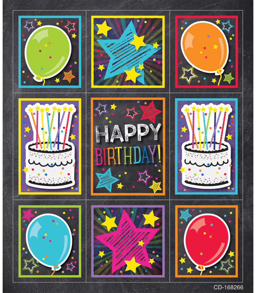 Twinkle Twinkle You're A STAR! Birthday Prize Pack Stickers Product Image