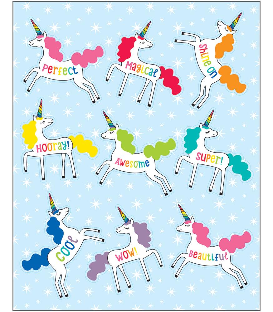Unicorns Shape Stickers Product Image