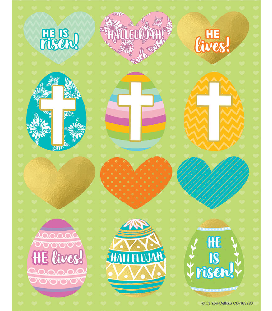 He Is Risen Variety Shape Stickers Product Image