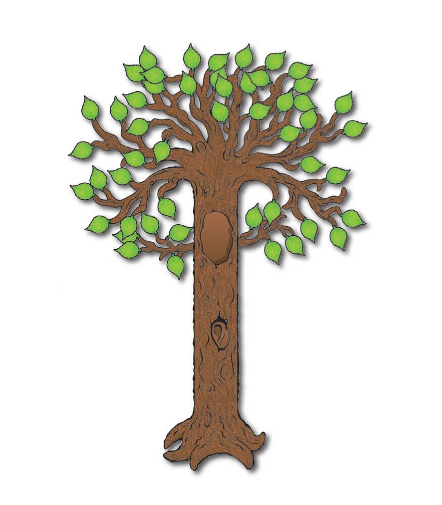 Big Tree Bulletin Board Set Product Image