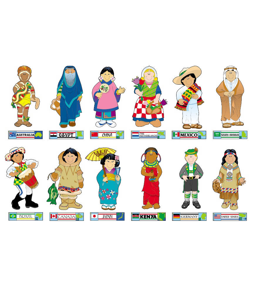 International Kids Bulletin Board Set Product Image