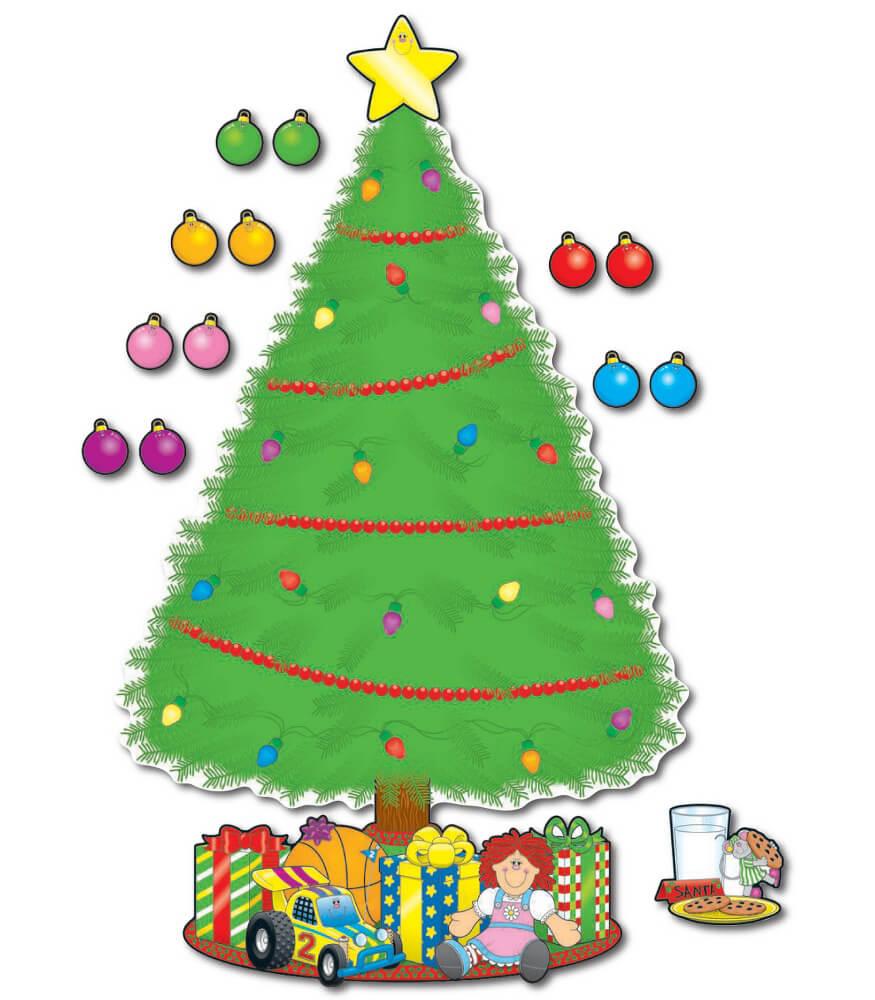Big Christmas Tree Bulletin Board Set Product Image
