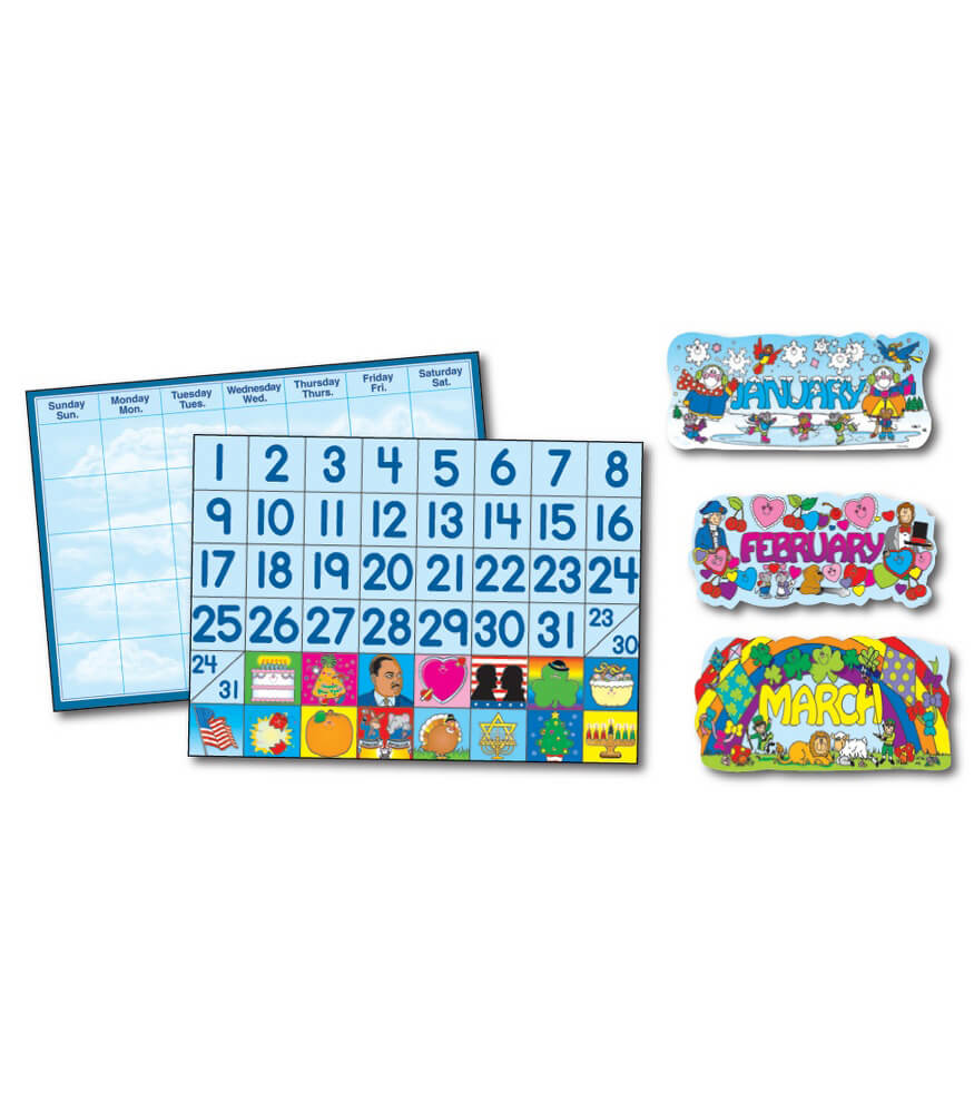 Year 'Round Bulletin Board Set Product Image