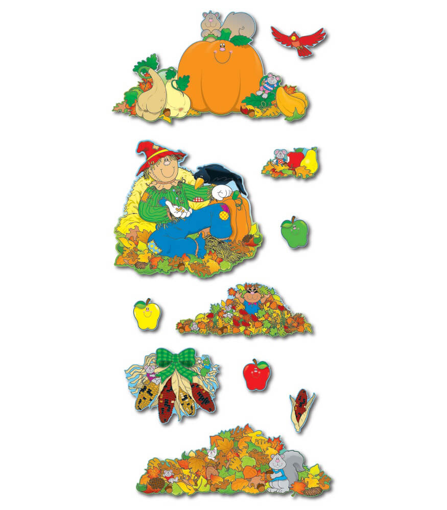 Fall Accents Bulletin Board Set Product Image