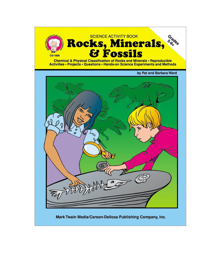 Rocks, Minerals, & Fossils Resource Book Product Image