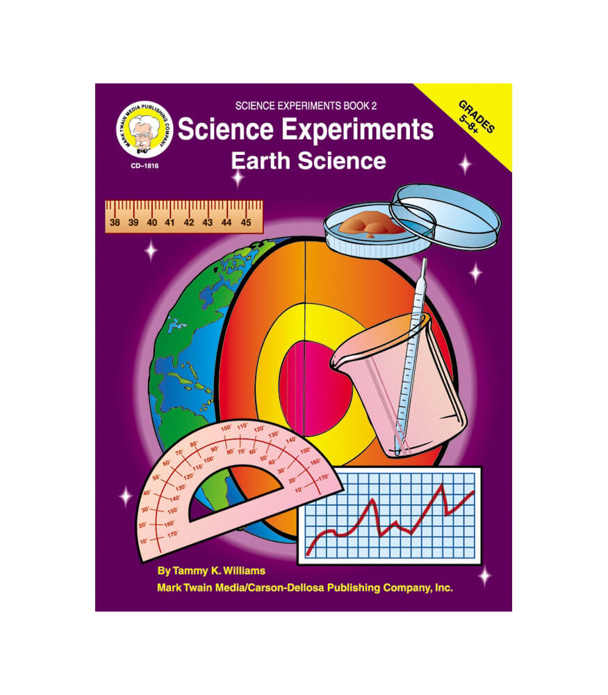 Science Experiments Resource Book Product Image