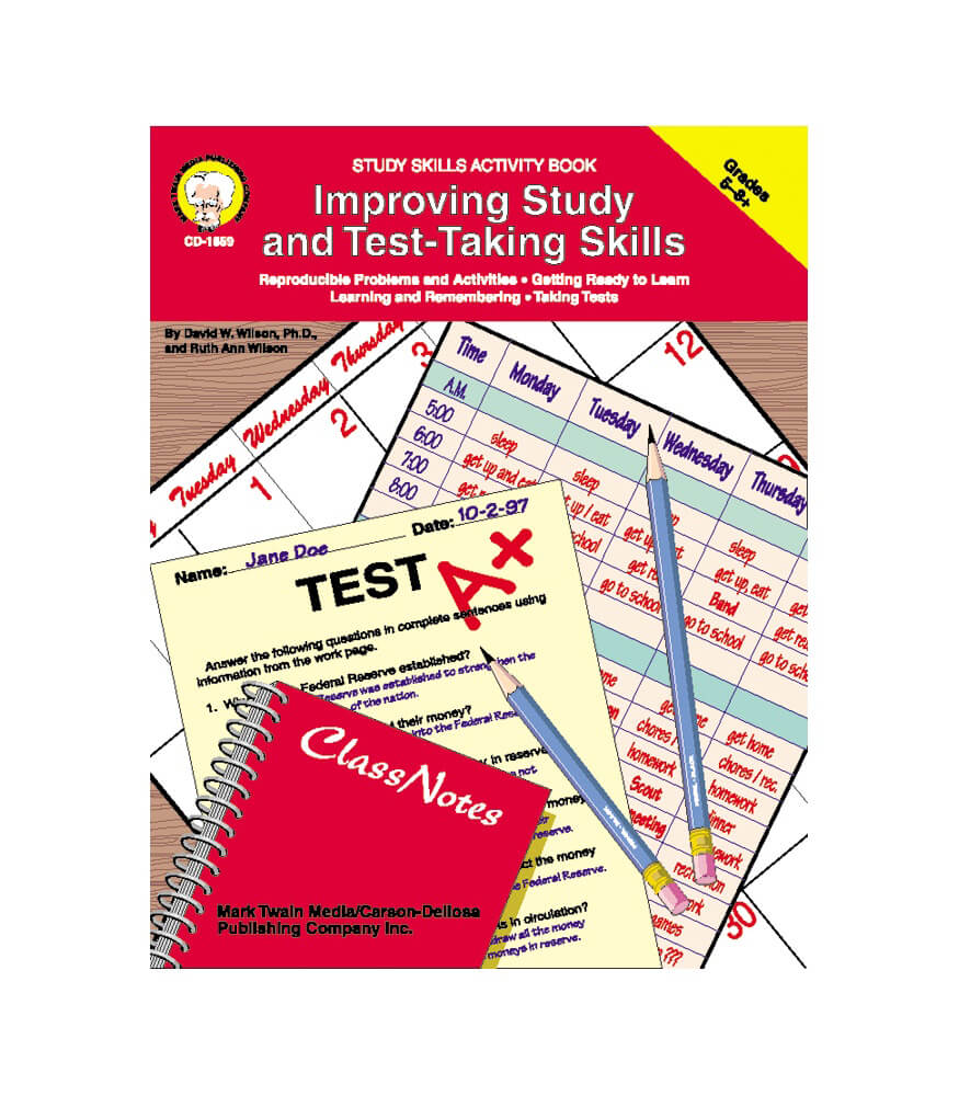 Improving Study and Test-Taking Skills Resource Book Product Image