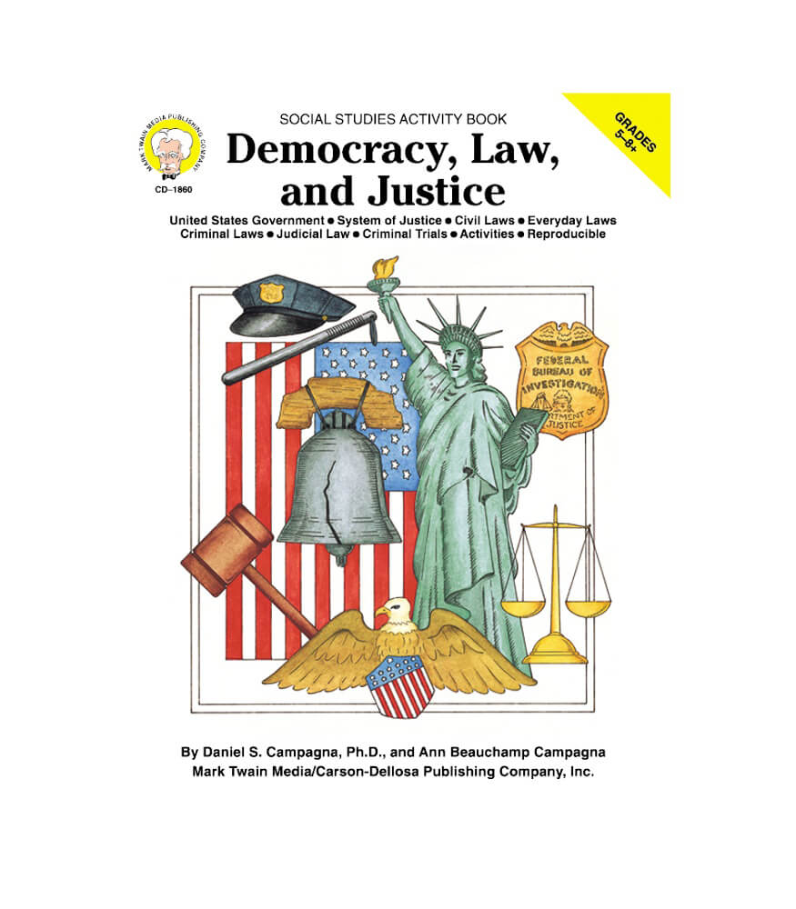Democracy, Law, and Justice Resource Book Product Image