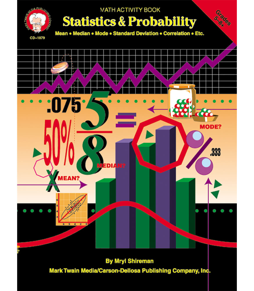 Statistics & Probability Resource Book Product Image