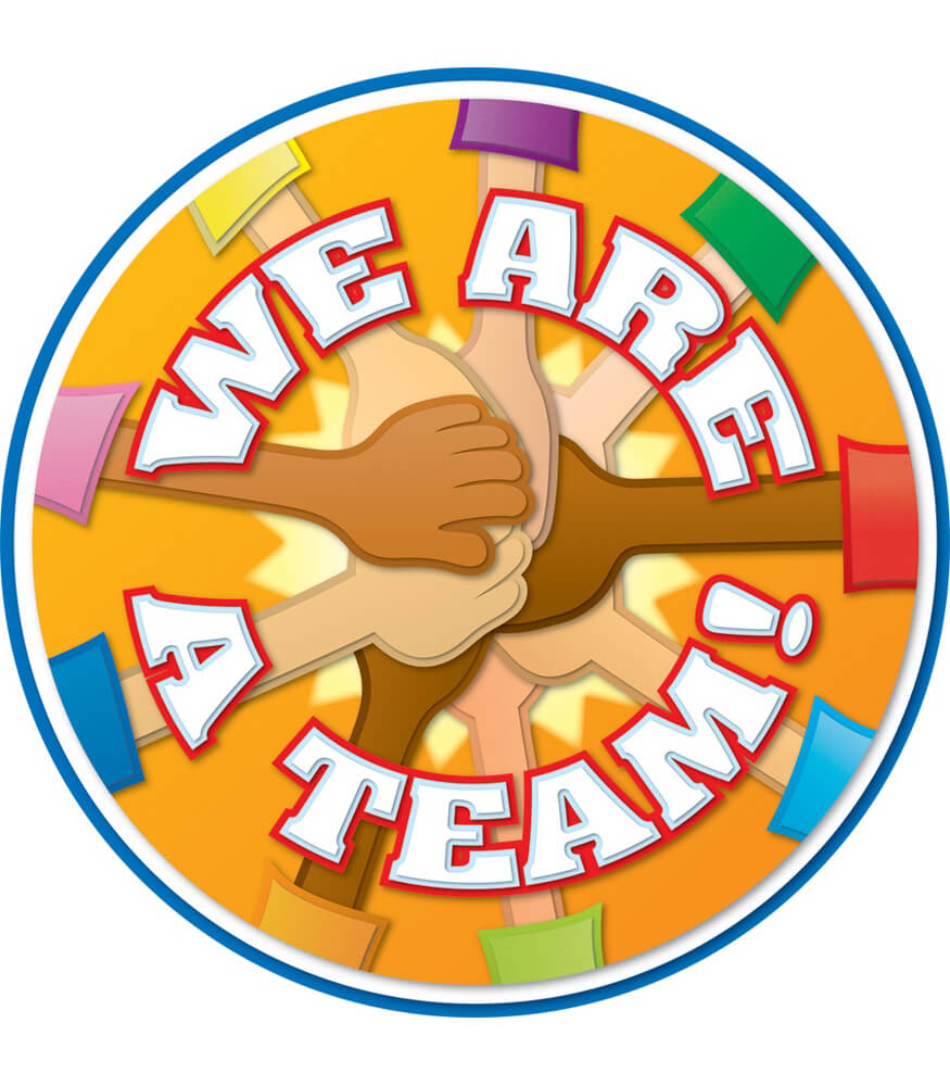 We Are a Team! Two-Sided Decoration Product Image