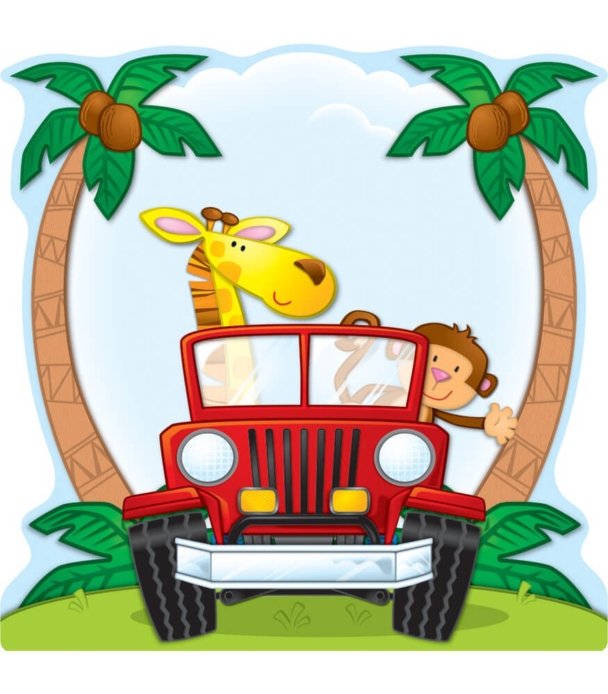 Jungle Safari Two-Sided Decoration Product Image