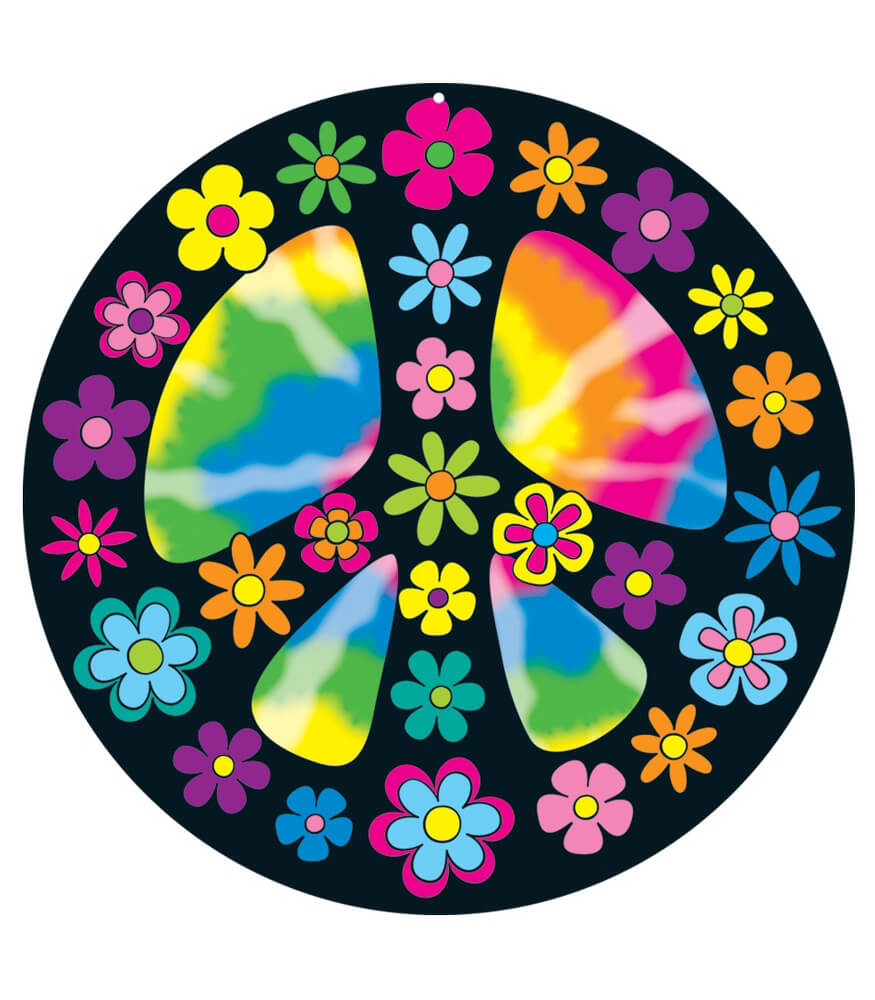 Peace Sign Two-Sided Decoration Product Image