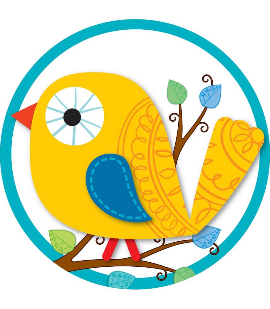 Boho Birds Two-Sided Decoration Product Image