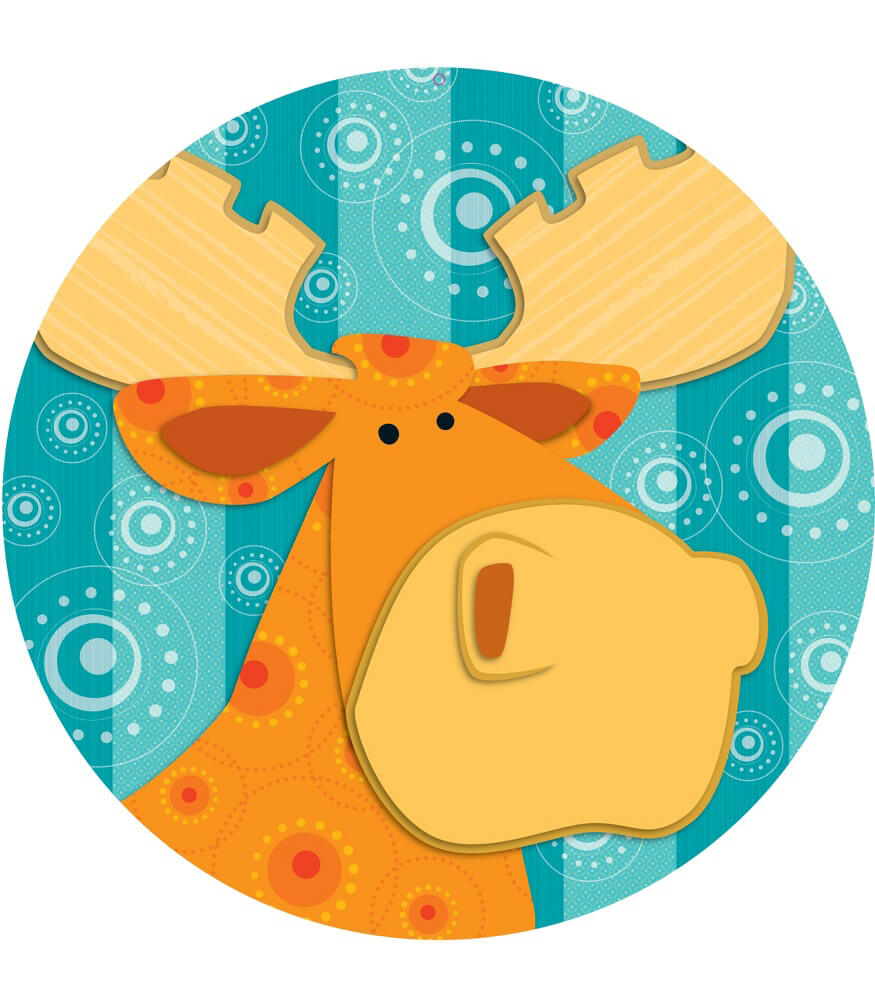 Moose & Friends Two-Sided Decoration Product Image