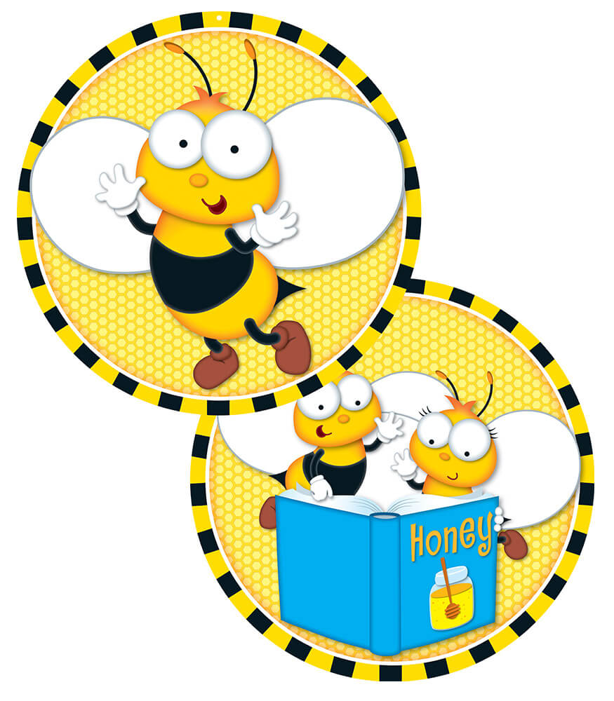 Buzz–Worthy Bees Two-Sided Decoration Product Image