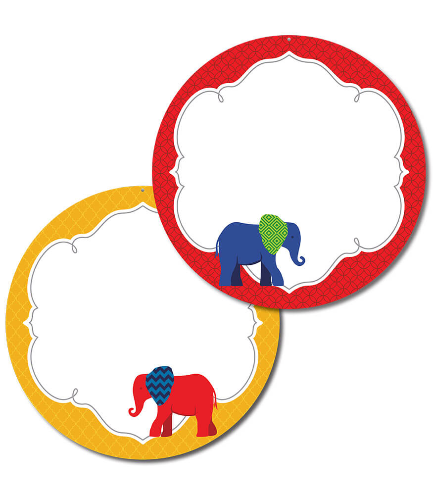 Parade of Elephants Two-Sided Decoration Product Image