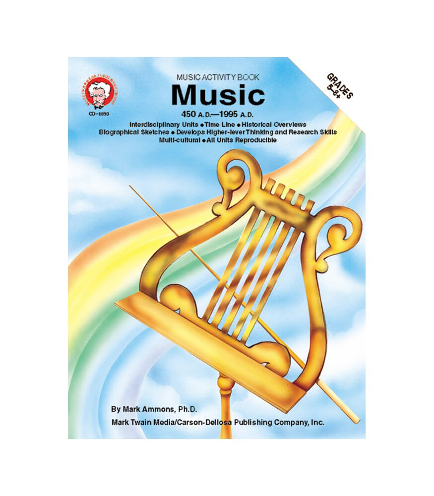 Music: 450 A.D. to 1995 A.D. Resource Book Product Image
