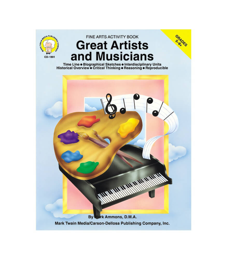 Great Artists and Musicians Resource Book Product Image