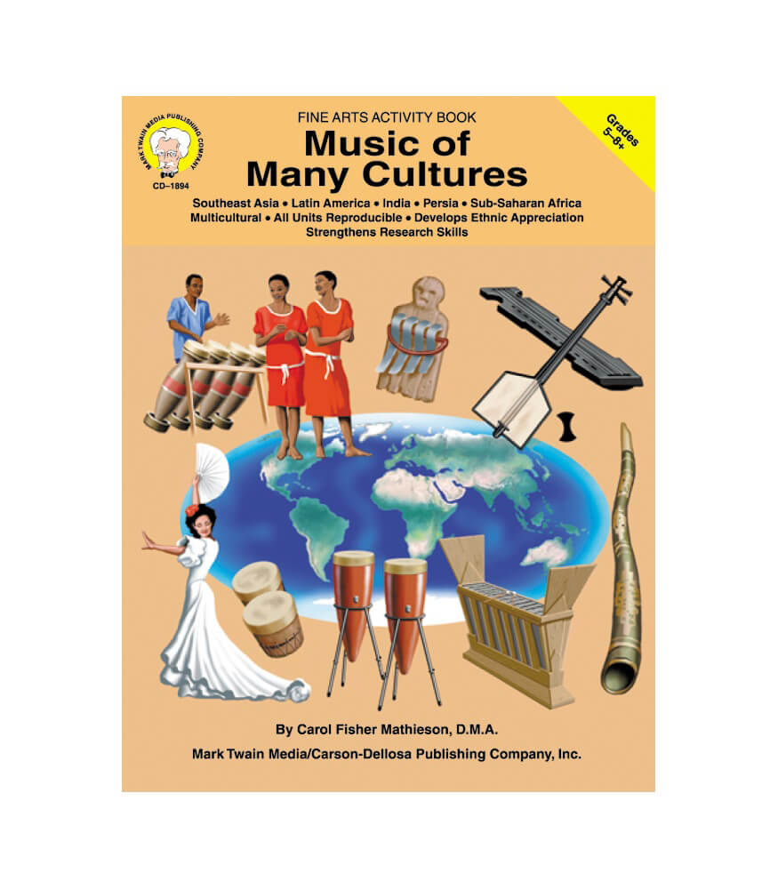 Music of Many Cultures Resource Book Product Image