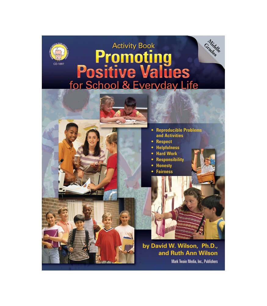 Promoting Positive Values for School & Everyday Life Resource Book Product Image