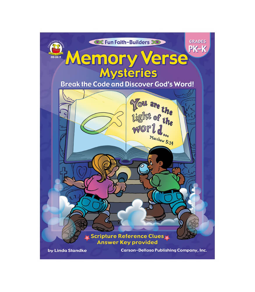 Memory Verse Mysteries Activity Book Product Image