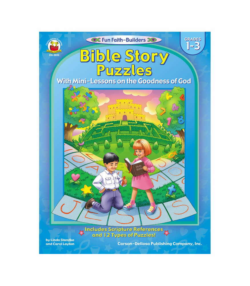 Bible Story Puzzles Activity Book Product Image