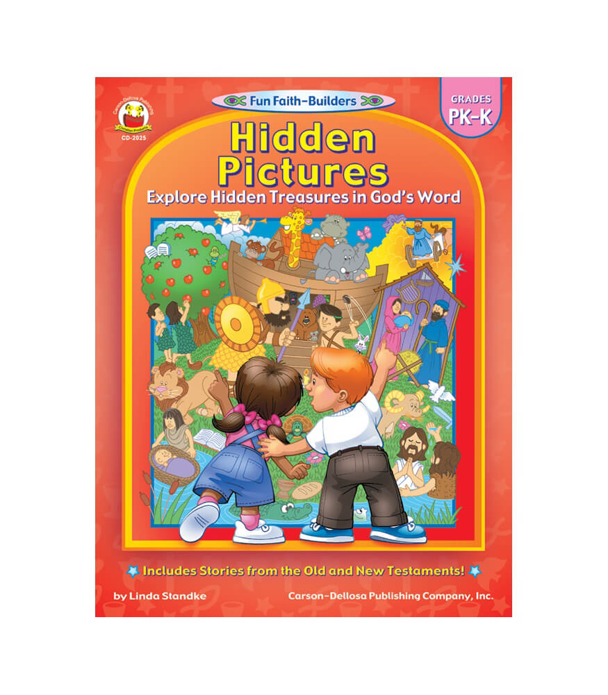 Hidden Pictures Activity Book
