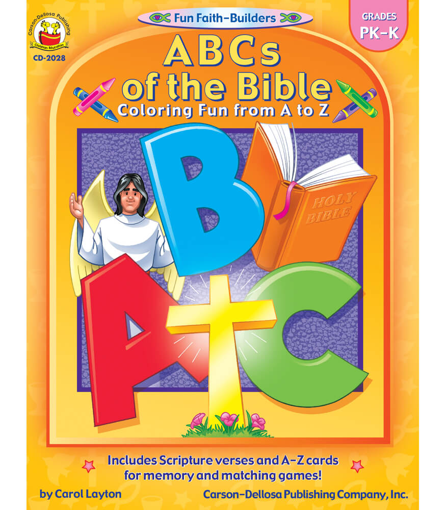 ABCs of the Bible Activity Book Product Image